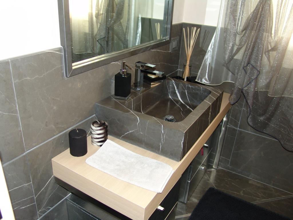 Lavelli e lavabi massello in marmo e pietra granitmarmi snc di bresciani co - Bagni bellissimi moderni ...